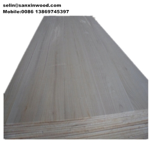 15/18/27mm paulownia edge glued panel used for coffin furniture