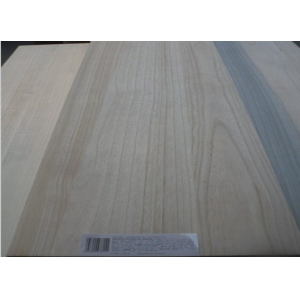 18mm bleached paulownia edge glued panel in supermarket