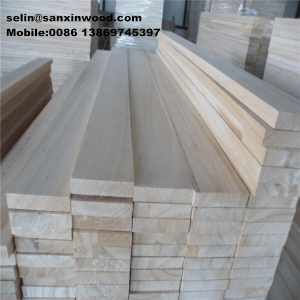 24mm paulownia strip for ski core