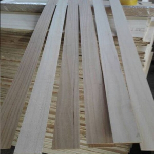 3mm paulownia solid finge joint for surfboard