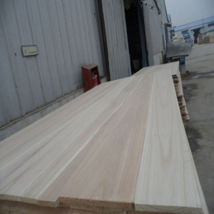 4x8 solid wood paulownia wood board china timber buyers