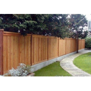 China cheap price Garden fence panel in China fir lumber