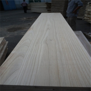 Paulownia board for furnitures decoration and surfboard