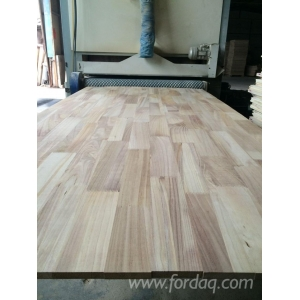 Paulownia board for make wooden door frame