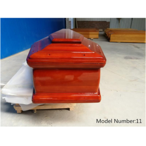 Wholesale Solid Oak Wooden Coffin for Funeral Use
