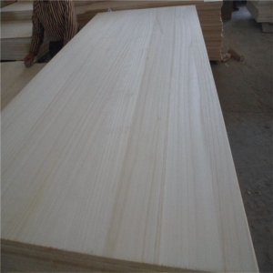 export japan bleached  paulownia solid panels