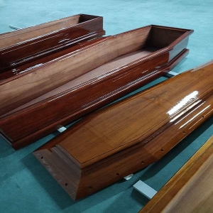 good sale  Italy style paulownia wood coffins