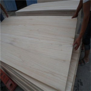 lightweiht paulownia board for making coffin