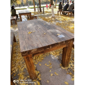 outdoor furniture with wood preservative