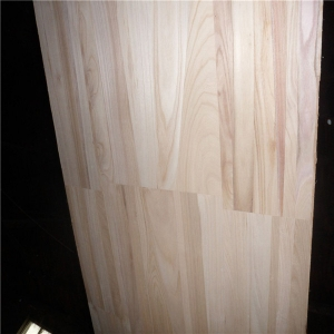 paulownia joint board with natural color