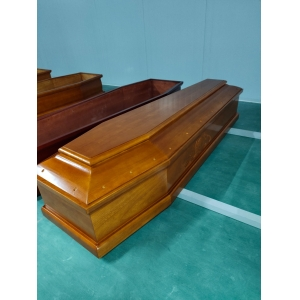 paulownia wooden casket coffin supplier in China