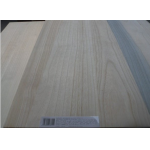 China 18mm bleached paulownia edge glued panel in supermarket factory