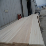China 4x8 solid wood paulownia wood board china timber buyers factory