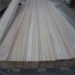 中国BC grade sanded with groove paulownia side board工場