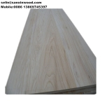 China Bleached paulownia glued panel factory