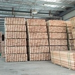 China China cedar lumber/ Garden fence panel factory