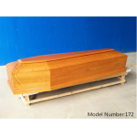 China Italian style funeral Europe wooden coffins fábrica
