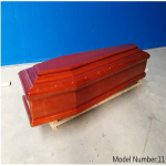 China Italian style funeral coffins factory