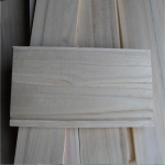 China Natural Color Paulownia Panel for Drawer Sides factory