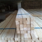 China Paulownia solid square strip chamfer  for construction factory