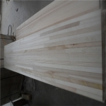 China Poplar hardwood snow core finger joint board factory