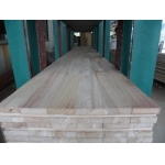 China S4S Paulownia finger joint board for door frame factory