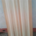 China Same widths of lamellas snow core made of paulownia  poplar elongata wood factory