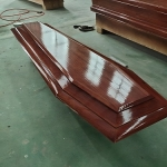 China Used funeral coffins for Europe Market-Fabrik