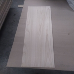 Chine paulownia edge glued wood board usine