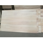 China paulownia finger jointed board for door frame paulownia china finger jointed for door core factory