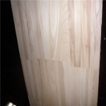 China paulownia joint board with natural color factory
