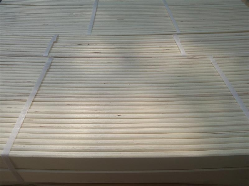 Maple Plywood Edge Bend ~ Bleached bend and flat poplar plywood for bed slats