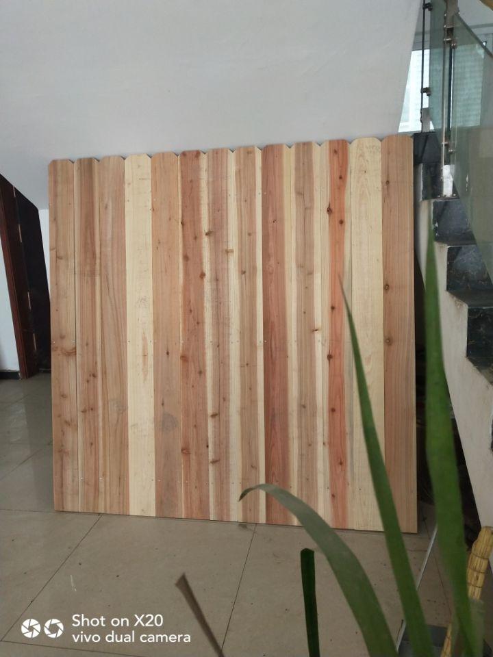 Recinzione esterna dell 39 abete della porcellana for A buon mercato una casa di legno