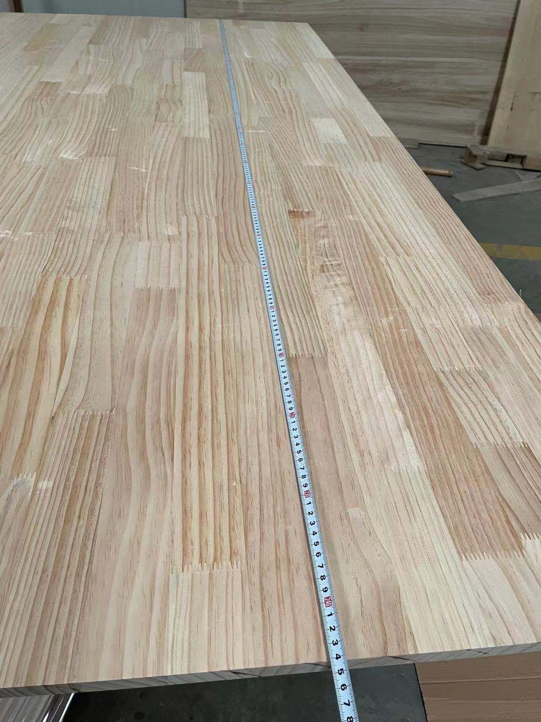 newzealand pine finger joint board used for furniture